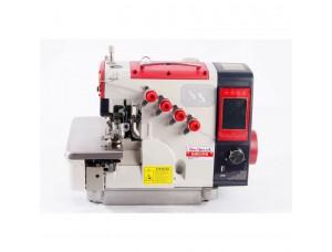 Máquina Costura Industrial Overlock Ponto Cadeia Eletrônica Control Box Acoplado ao Cabeçote SS94-DE-AT-SP-BR Sun Special