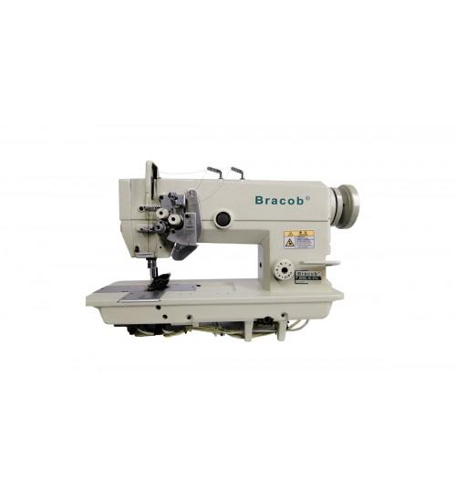 Máquina de costura industrial pesponto duplo com agulha alternada BC 875 5
