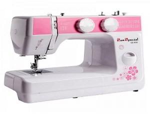 Máquina De Costura Doméstica Sun Special Sun Lady Pink - 24 Pontos